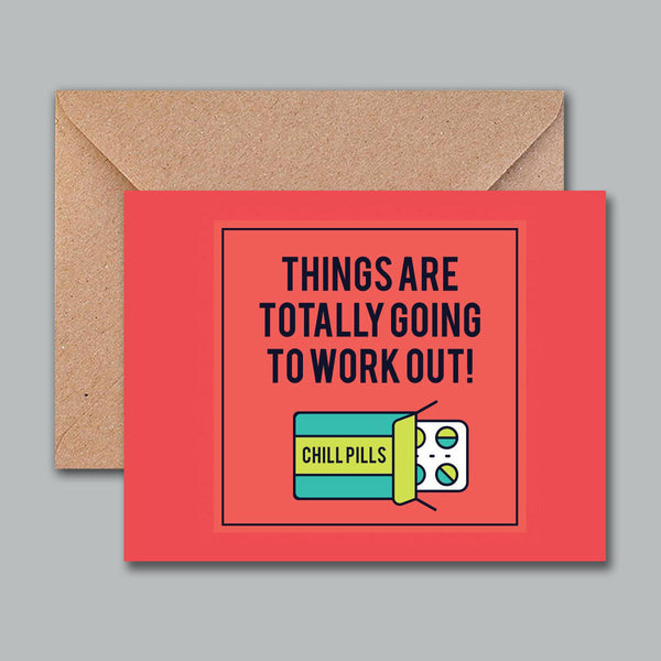 Greeting Card - Chills Pills-Stationery-PropShop24.com