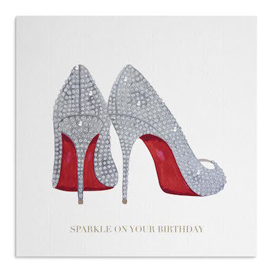 Crystal Shoes card