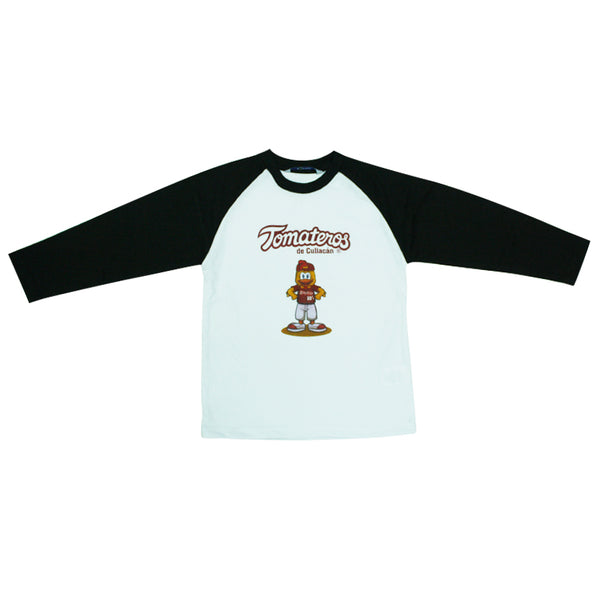 Playera Pollo Manga Larga Niño