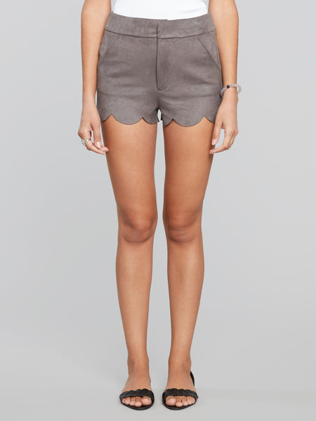 high-waisted shorts