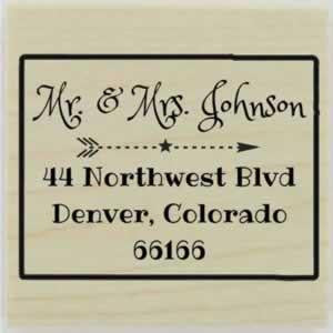 "Custom Colorado Stamp Design 1 - 1.5"" X 1.5"" - Stamptopia"