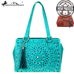 MW867G-8564  Montana West Bling Bling Collection Concealed Carry Tote Bag
