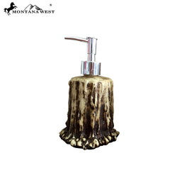 RSM-1743 Montana West Resin Antler Soap Dispenser