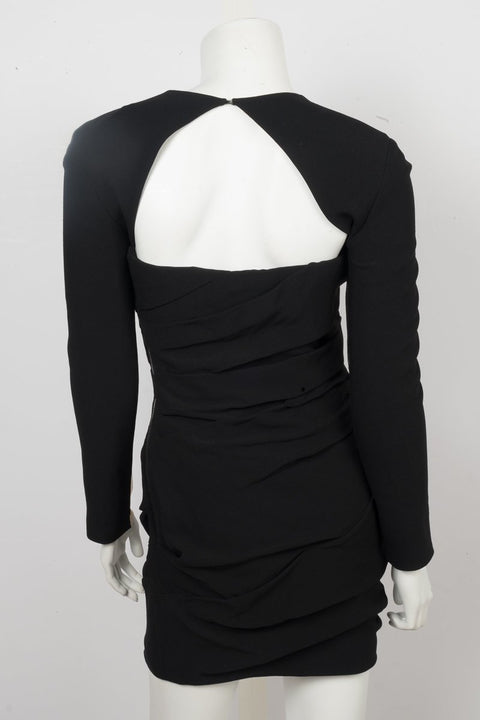 Alexander Wang Black Illusion Mini Dress Sz 2