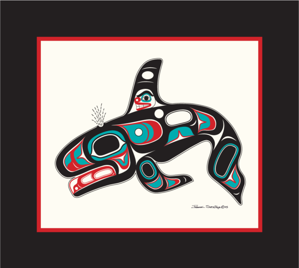 """Killer Whale"" Open Edition Art Print - Shotridge.com"