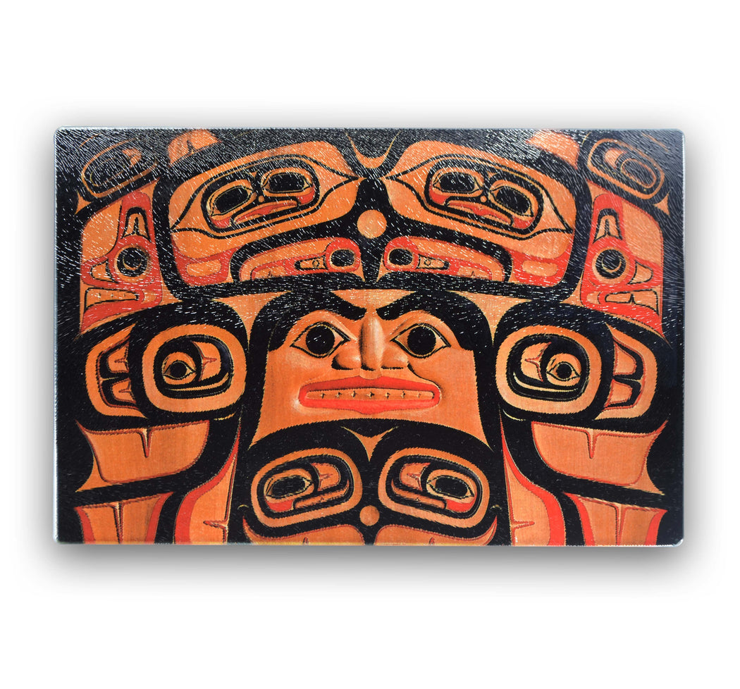 """Spirit Face"" Cutting Board - Shotridge.com"