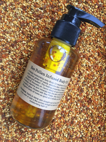 Bee Pollen Infused Body Oil