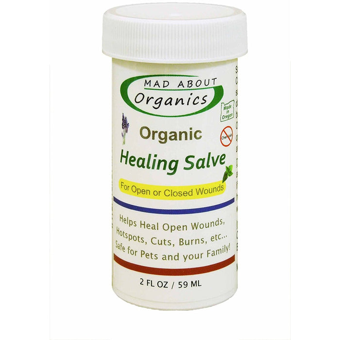 Mad About Organics | Organic Healing Herbal Salve
