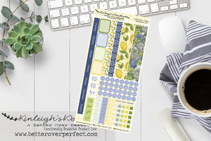 LEMONADE // HOBONICHI WEEKS STICKER KIT