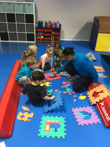 Gym Camp - Pre-School Half Days