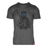 Hip Bear 50/50 T-Shirt
