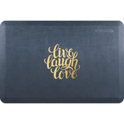 "Signature Exclusive ""Live Laugh Love"" – Linen - WellnessMats"