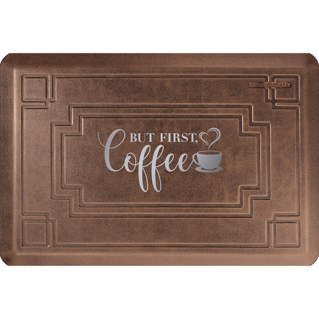 "Signature Exclusive ""But First, Coffee"" – Gatsby - WellnessMats"