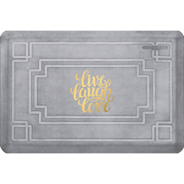 "Signature Exclusive ""Live Laugh Love"" – Gatsby - WellnessMats"