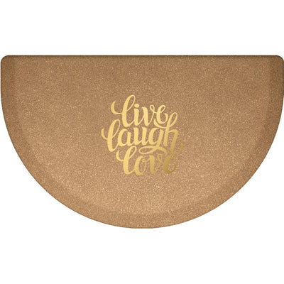 "Signature Exclusive ""Live Laugh Love"" – Semi-Circle - WellnessMats"