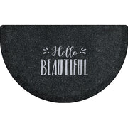 "Signature Exclusive ""Hello Beautiful"" – Semi-Circle - WellnessMats"