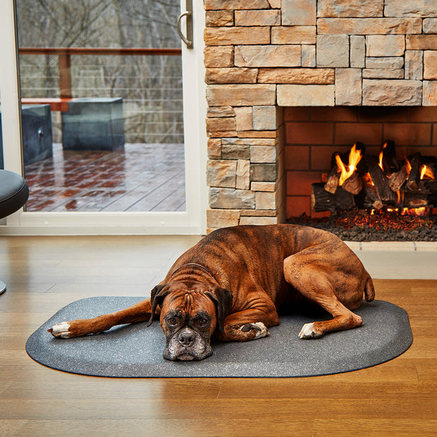 PetMat Rounded Collection – Silver Haven - WellnessMats