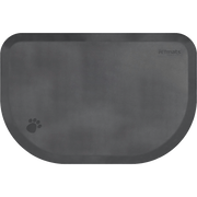 PetMat Rounded Collection – Gray Cloud - WellnessMats