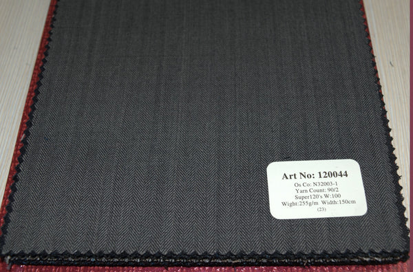 signature-100-wool-super-120s-255-gs-m-plain-grey-120044 - DV Clothiers - The Best Custom Mens Suits In Vancouver