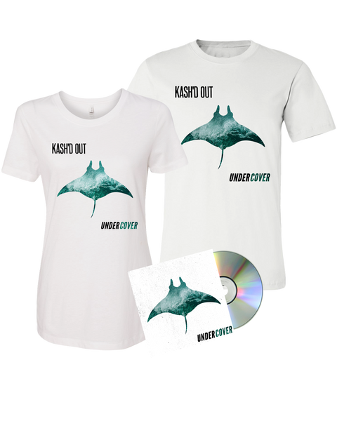 Kash'd Out - Undercover CD + Tee + Digital Download Pre-Order
