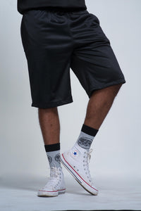 Hectic 7 Black Shorts