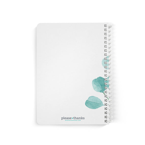 Refreshing Eucalyptus Notebook