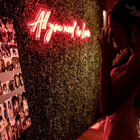 All you need is Love Neon LED Sign for Your Wedding Day and Forever - MK Neon