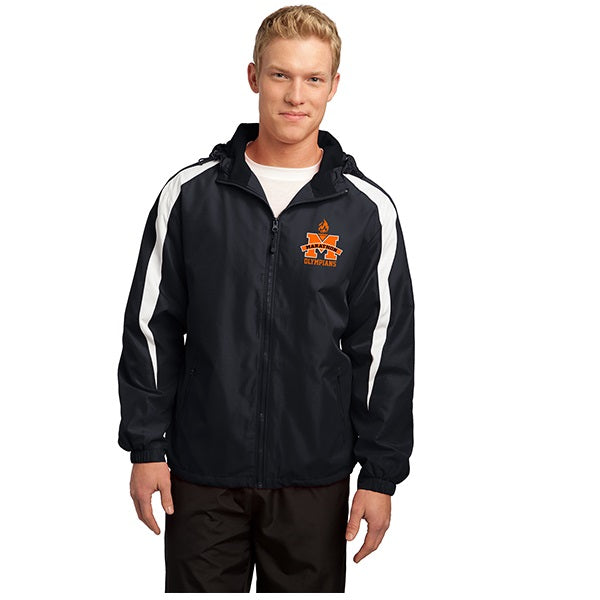 Fleece Lined Color Block Jacket - Adult & Youth