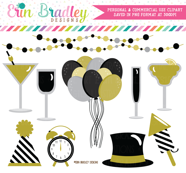 New Years Eve Party Clipart