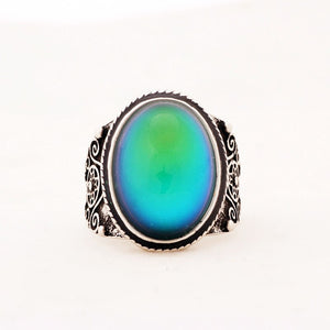 Vintage Bohemia Retro Color Changing Mood Ring Size 7,8,9 - The GearBuyz Store