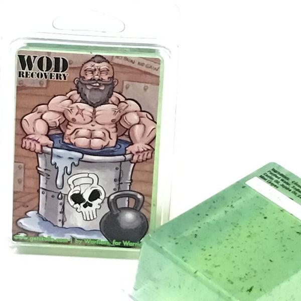 WOD Recovery soap bar