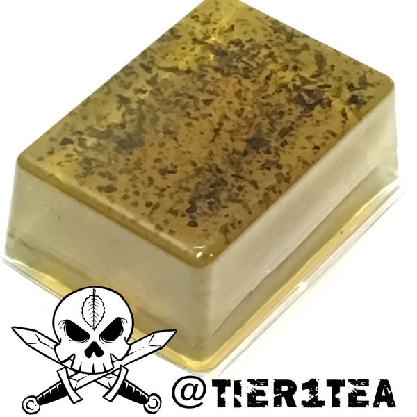 @Tier1Tea peppermint tea soap bar
