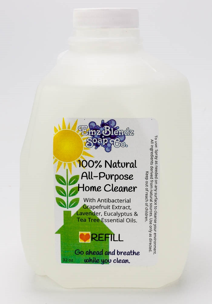 100% Natural All Purpose Home Cleaner - Emz Blendz