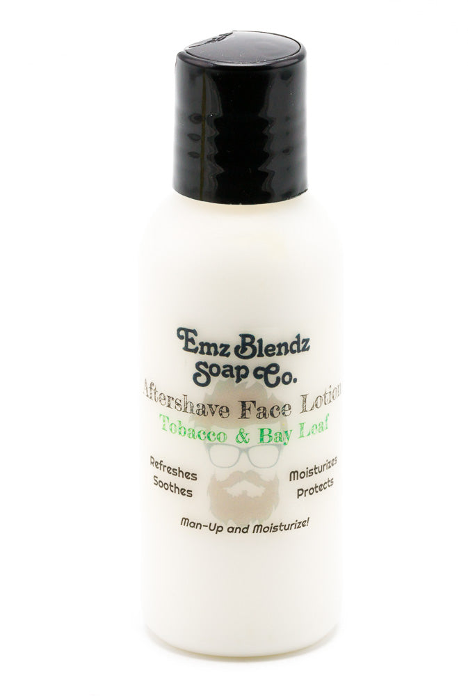 Tobacco and Bay Leaf | Aftershave Lotion - Emz Blendz