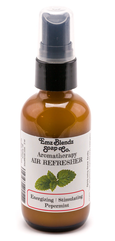 Peppermint | Natural Aromatherapy Air Refresher | Energizing & Stimulating - Emz Blendz