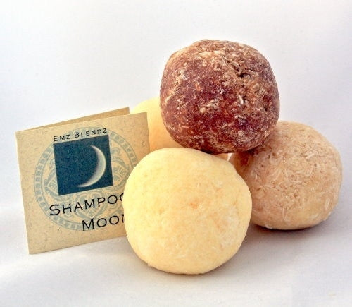 Herbal Shine | Shampoo Moon&#8482 - Conditioning Solid Shampoo - Emz Blendz