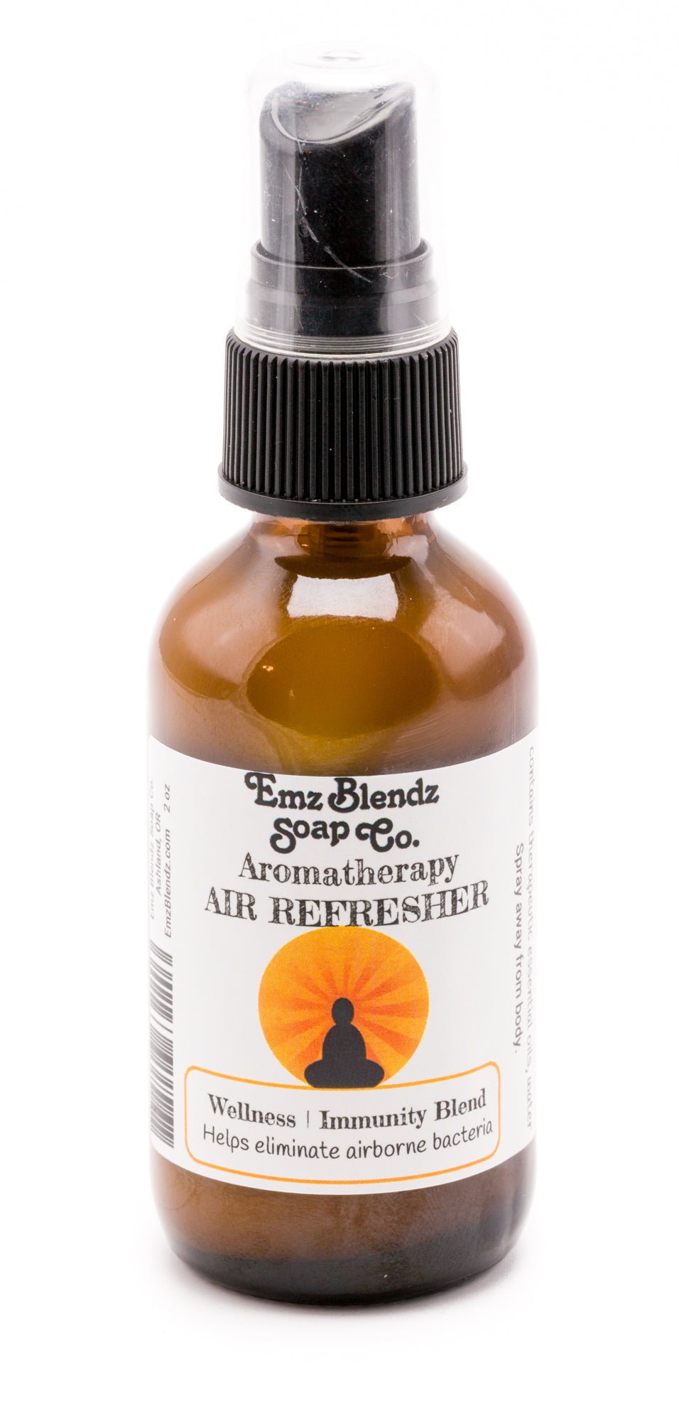 Wellness & Immunity Blend | Natural Aromatherapy Air Refresher | Boosts Immunity - Emz Blendz