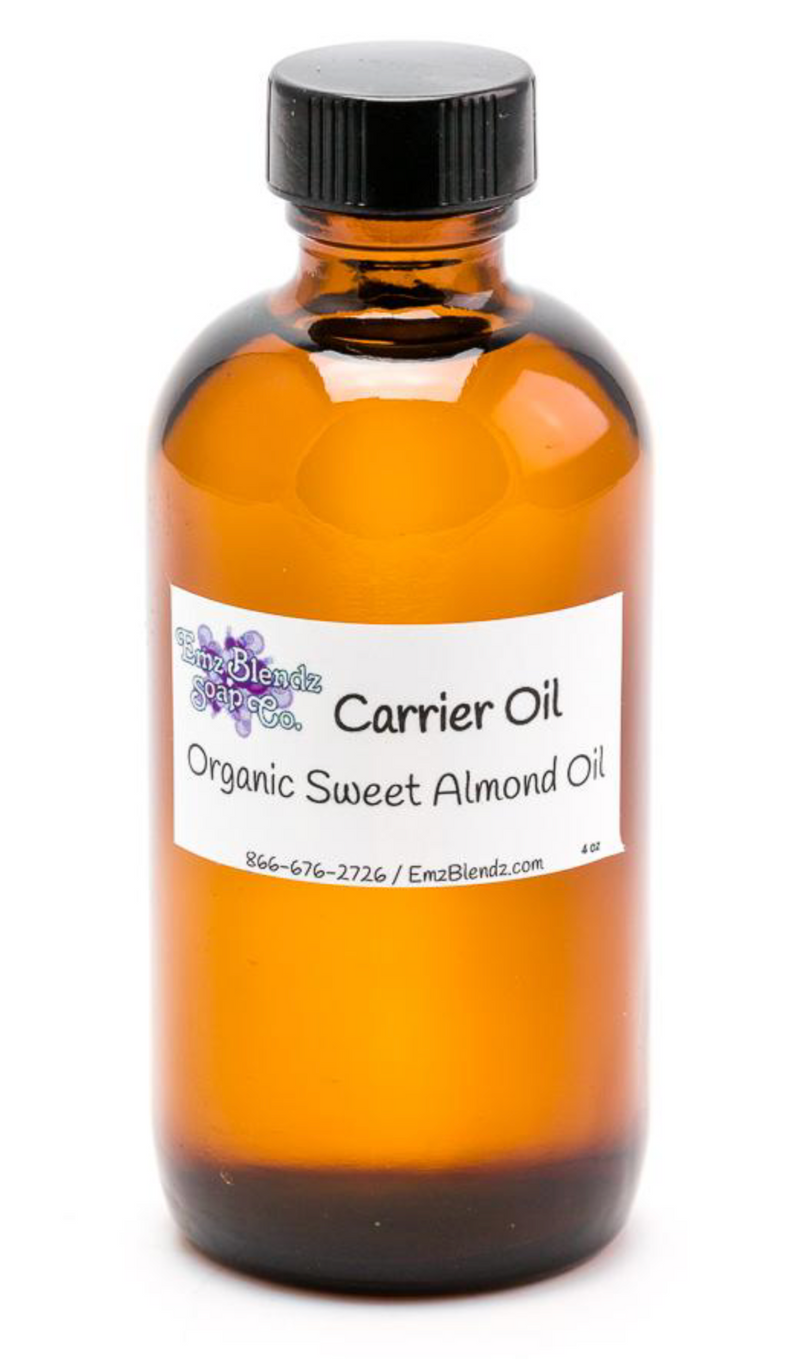 Carrier Oil, Sweet Almond - Emz Blendz