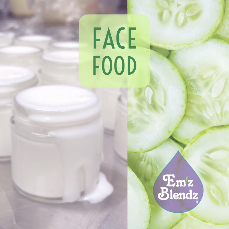 Face Food | Original Cucumber Carrot | Eye & Night Cream - Emz Blendz