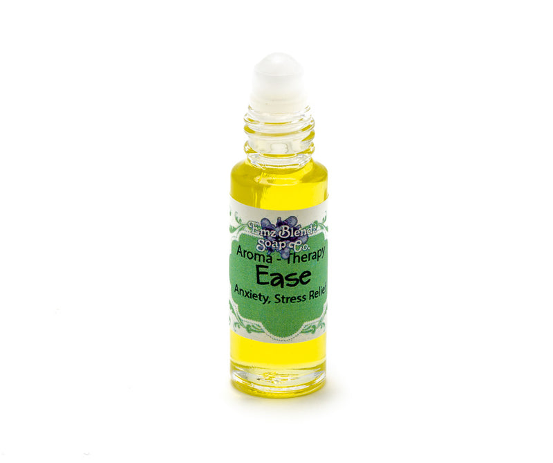 Ease | Aroma-Therapy | Natural Perfume Oil | Anxiety, Stress Relief - Emz Blendz