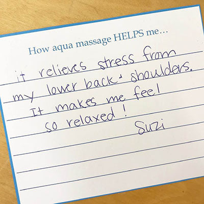 Suzi - aqua massage review 2