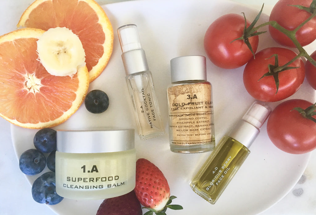 21 DAYS TO TOXIN FREE and HEALTHY SKIN WITH  NATURAL SUPERFOOD SKIN CARE