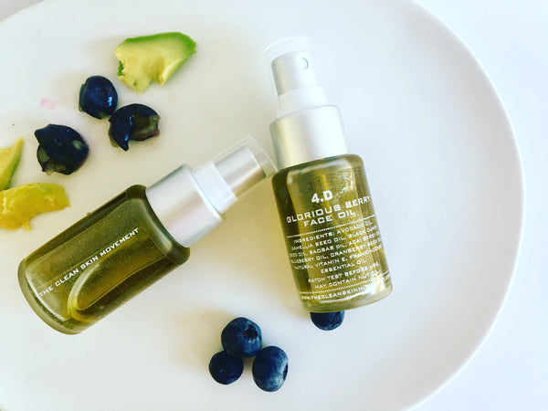 4.D GLORIOUS BERRY FACE OIL (mature + severely dehydrated skin skin)
