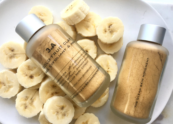 3.A GOLD FRUIT CLAY MASK/EXFOLIANT