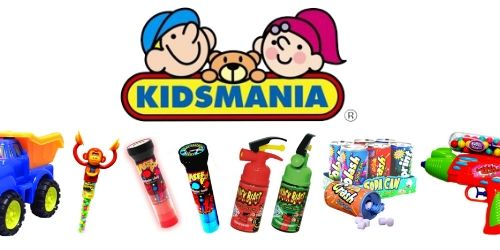 Kidsmania Novelty Candy-Best Selling Summertime Candy at Wholesale Prices