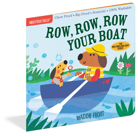 Indestructibles Book - Row, Row, Row Your Boat