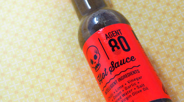 [REVIEW] Agent 80 Hot Sauce