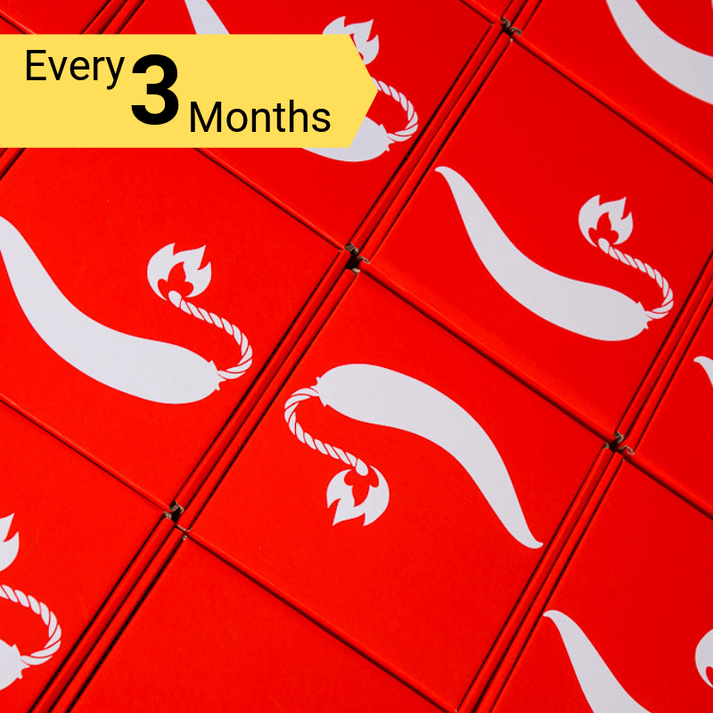 ChilliBOM Red Box 3 Month Subscription ChilliBOM Red Box 3 Month Subscription