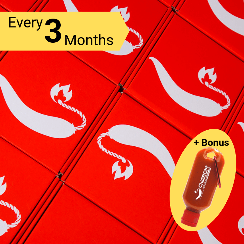 ChilliBOM Red Box 3 Month Subscription ChilliBOM Red Box 3 Month Subscription bonus