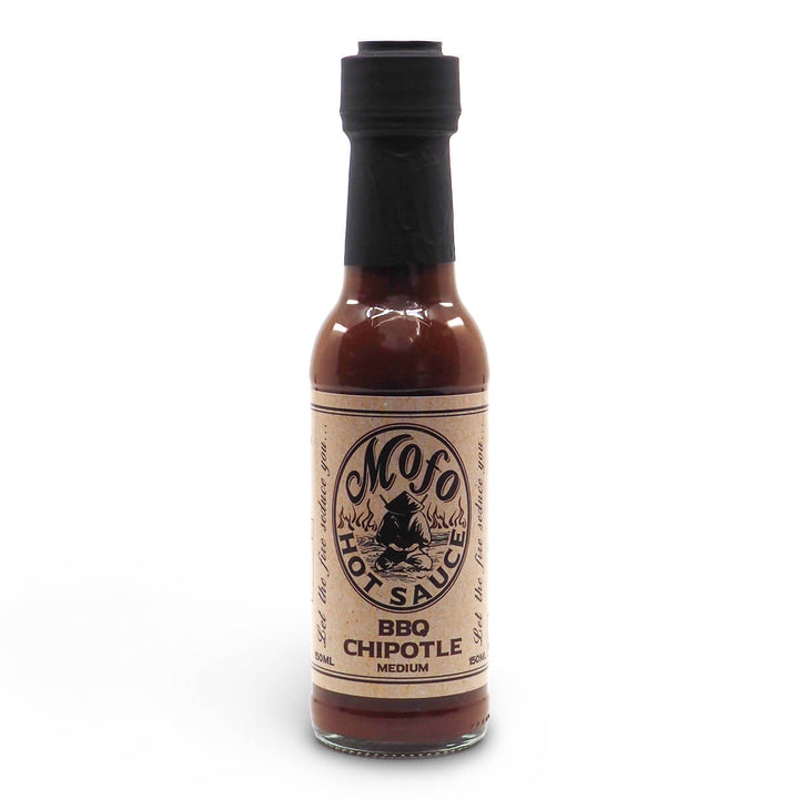 Mofo Hot Sauce BBQ Chipotle 150ml ChilliBOM Hot Sauce Club Australia Chilli Subscription Gifts SHU Scoville